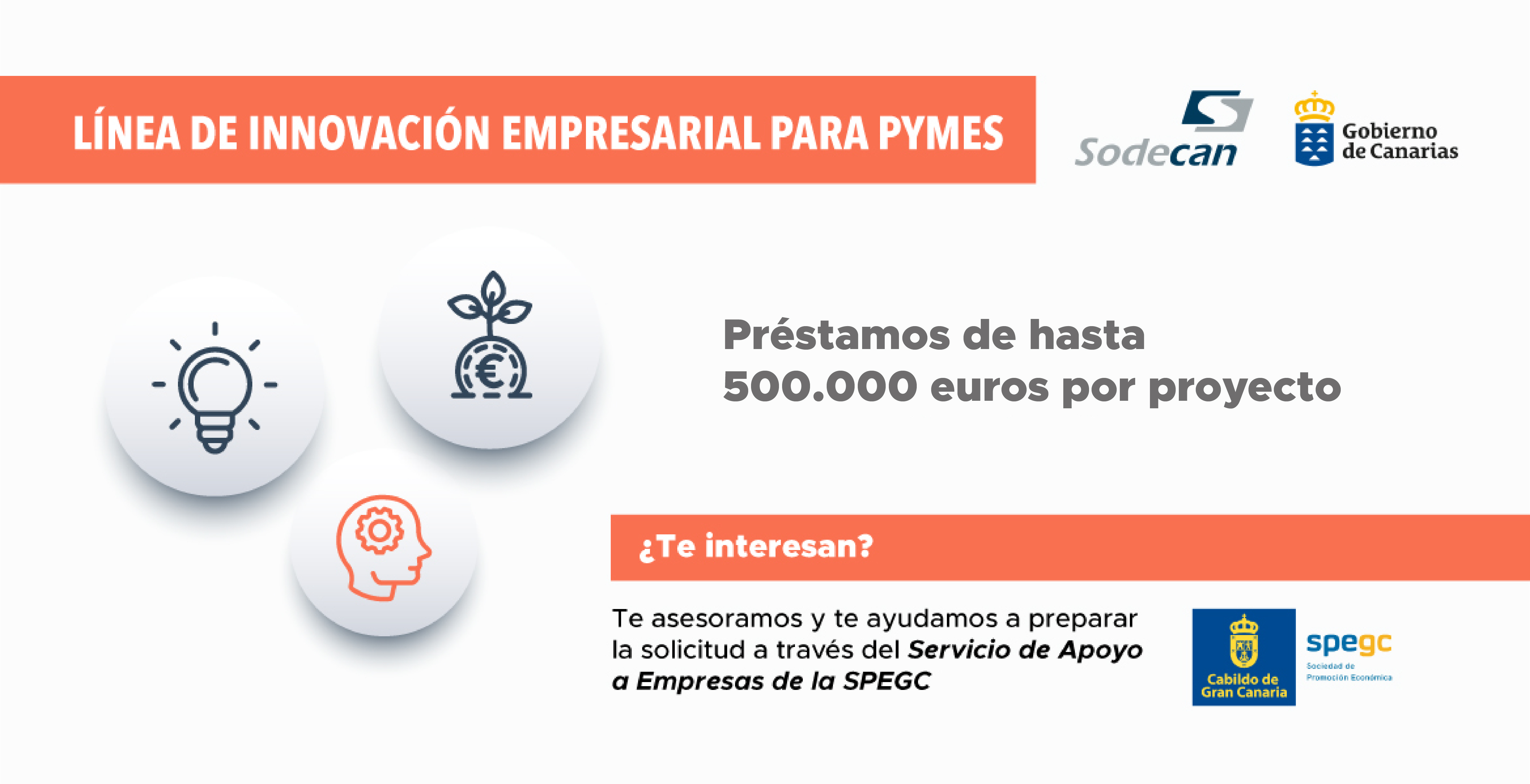 Lineas financiación Sodecan