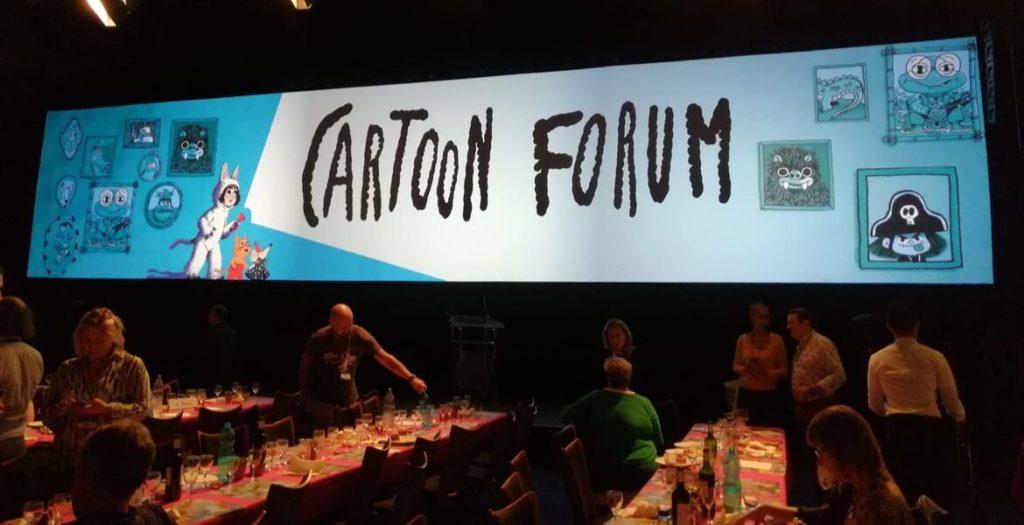 Cabecera Cartoon Forum